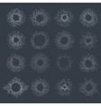 Designers collection of sunburst vector image