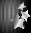 dark metallic background vector image vector image