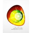 glossy orbs vector image vector image