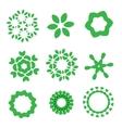 Organic design elements set vector image vector image