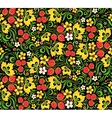 pattern traditional Russian style Hohloma vector image vector image