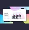 remote business communication internet vector image vector image