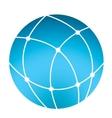 globe icon - business logo vector image