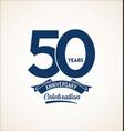 50 years anniversary black template background