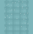background checkered snow celebration merry vector image