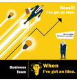 Business Idea series Business Team 3 concept vector image vector image