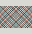geometric checkered plaid pixel seamless pattern vector image