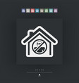 house protection icon vector image