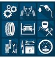Icon car service 3 vector image