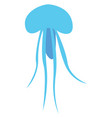 jellyfish under water or color vector image vector image