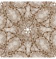 Ornamental floral background vector image vector image