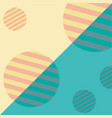 pattern geometric cartoon vector image