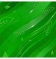 abstract linear background with leaves for design vector image