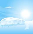 Big Iceberg Landscape vector image vector image