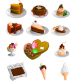 Desserts vector | Price: 3 Credits (USD $3)