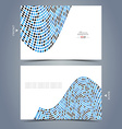Elegant business card design template vector image vector image