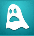 ghost applique background vector image vector image