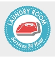 laundry room isolated icon design vector image