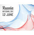 National Day of Country in Blending Lines Style vector image vector image
