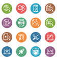 SEO Internet Marketing Icons Set 1 - Dot Series
