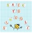 Back to school - vector image vector image