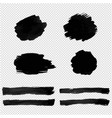 Black blot isolated transparent background