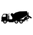 cement mixer icon vector image