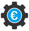 Euro Development Icon vector image vector image