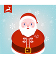 Father Christmas Icon vector image vector image