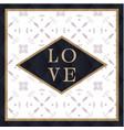 love square retro background image vector image vector image
