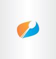 spoon logo symbol design vector image