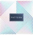 3d square modern pattern image vector image
