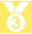 Bronze medal icon from Competition Success vector image vector image