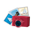 digital camera technology and art pictures vector image
