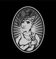female repair vector image