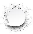 Global communication background vector image