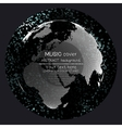 Music album cover templates World globe global