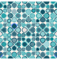 seamless background with abstract geometric shapes vector image vector image