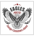 Vintage label Eagle - Retro emblem