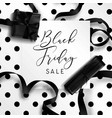 black friday autumnal holiday sellout of shops vector image vector image