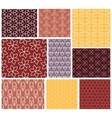 Geometric patterns Set of seamless vector image vector image