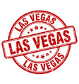 Las Vegas stamp vector image