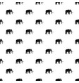 mammoth pattern seamless vector image vector image