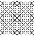 mosaic circles patter vector image vector image