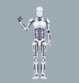robot android technology science fiction future 3d vector image vector image