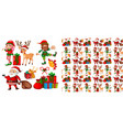 seamless pattern for wallpaper wrapping isolated vector image vector image