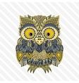 zentangle owl Ornate vector image