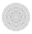 Mandala Vintage hand drawn decorative vector image