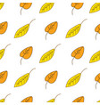 beautiful autumn inspired seamless pattern vector image vector image