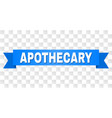 blue stripe with apothecary title